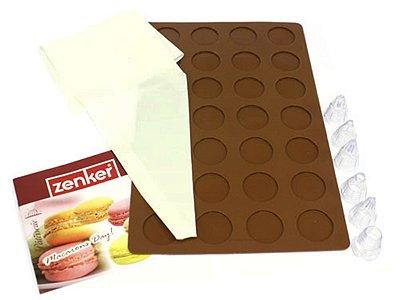 Conjunto 9 Peças p/ Fazer Macaron