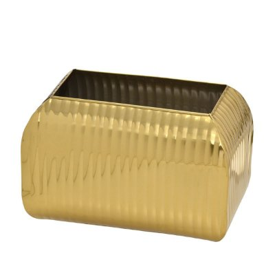 Cachepot Dourado Decorativo 30cm