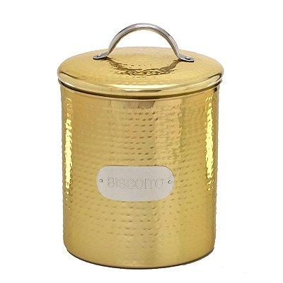 Pote Dourado p/ Biscoito