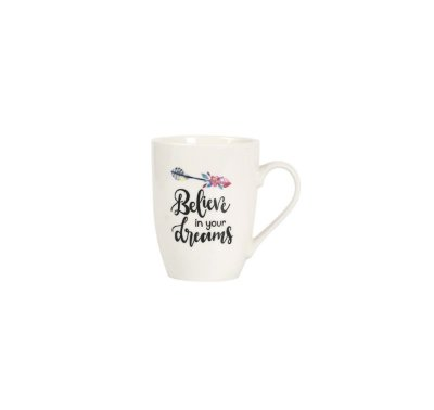 Caneca Believe In Your Dreams Branco 330ml