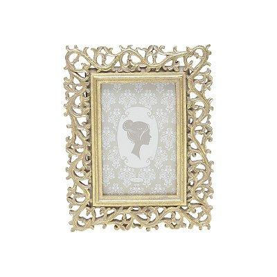 Porta Retrato Dourado 10x15cm Rojemac