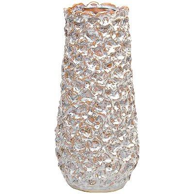 Vaso Cerâmica Bege 33cm GS