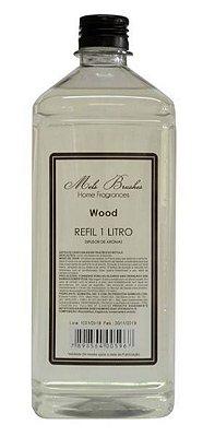 Refil Difusor Wood 1L Mels Brushes