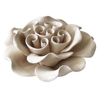 Flor Decorativa Marfim BTC