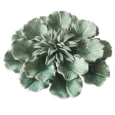 Flor Decorativa Verde Claro BTC