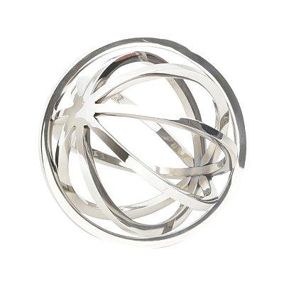 Esfera Decorativa Aço Inox Lyor