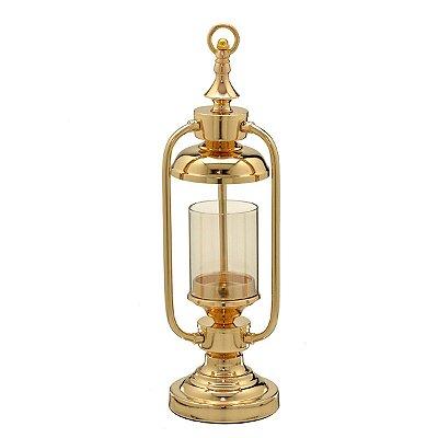 Candelabro Decorativo Dourado 45cm Mabruk