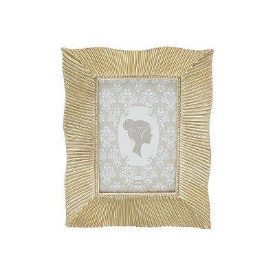 Porta Retrato Resina Dourado 10x15 Rojemac