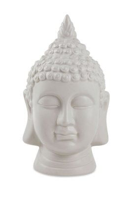 Buda Cinza em Cerâmica Mart