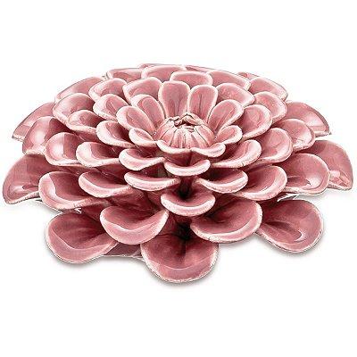Flor Decorativa Rosa Mart