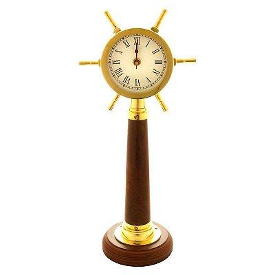Relógio Decorativo Dourado 43cm Rojemac