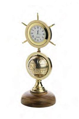 Globo c/ Relógio Decorativo Rojemac