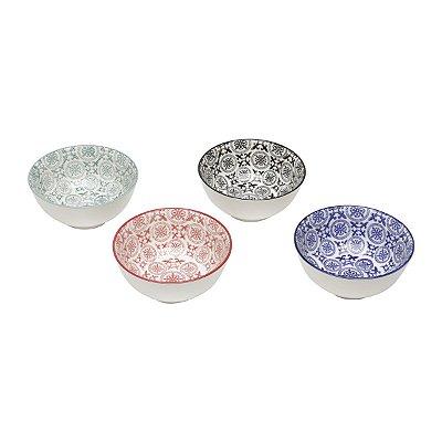 Conjunto 4 Bowls Royal Colorido Lyor