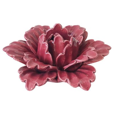 Flor Decorativa Rosa BTC