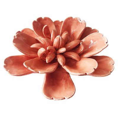 Flor Decorativa Salmão BTC