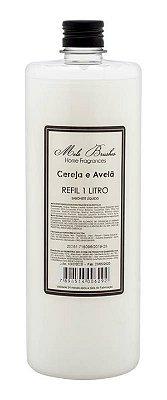 Refil Sabonete Perolado Cereja e Avelã 1L Mels Brushes