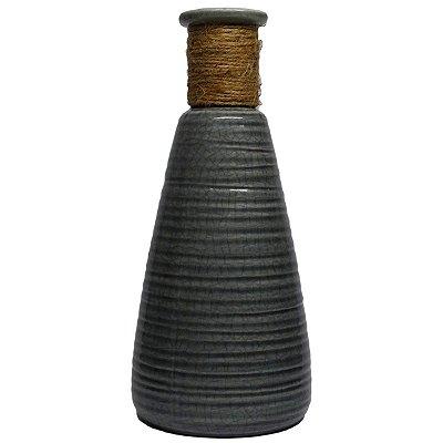 Vaso Decorativo Cinza Nataluz