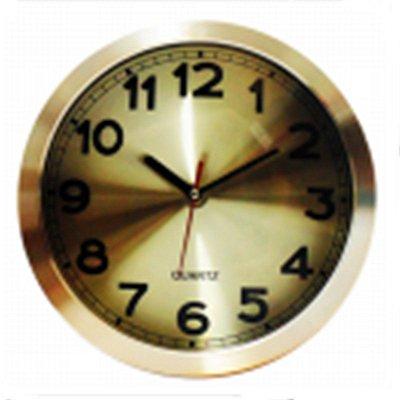 Relógio de Parede Metálico Cobre 25cm Nataluz
