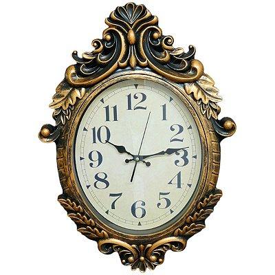 Relógio de Parede Oval Nataluz