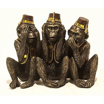 Escultura Macacos City