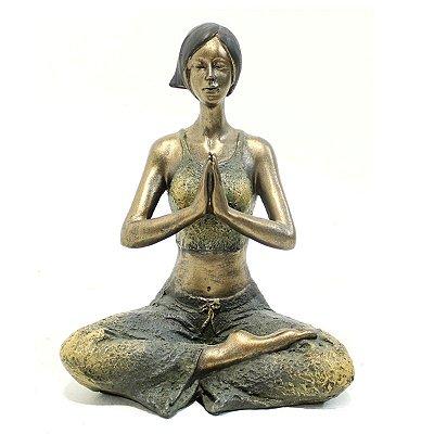 Escultura Yoga City