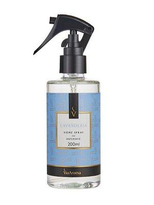 Home Spray Lavanderia 200ml Via Aroma