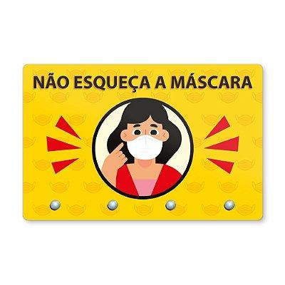 Pendura Máscara 20x13cm - GAROTA