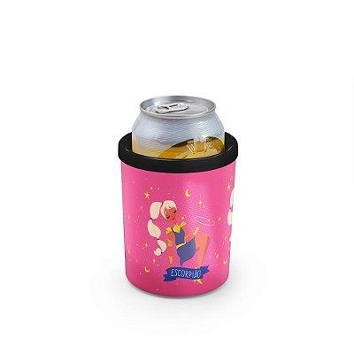 Porta Latas 350ml SIGNOS (rosa) - Escorpião