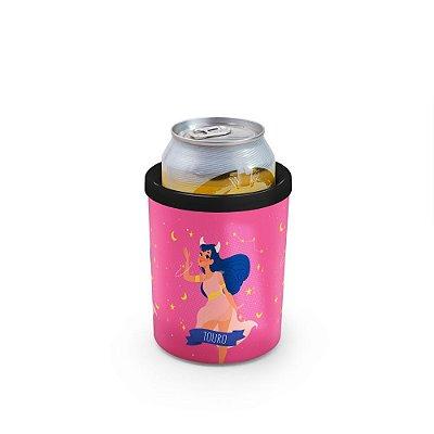 Porta Latas 350ml SIGNOS (rosa) - Touro