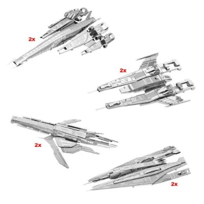 Kit Mini Réplicas de Montar MASS EFFECT