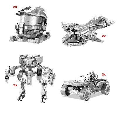 Kit Mini Réplicas de Montar HALO