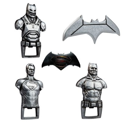 Kit 20 Abridores de Garrafas Batman Vs Superman - Beek