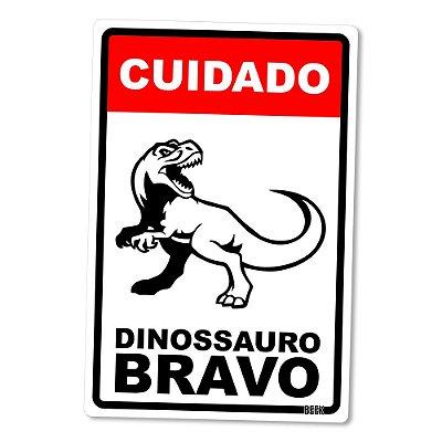 Placa Decorativa 24x16 Dinossauro - Beek