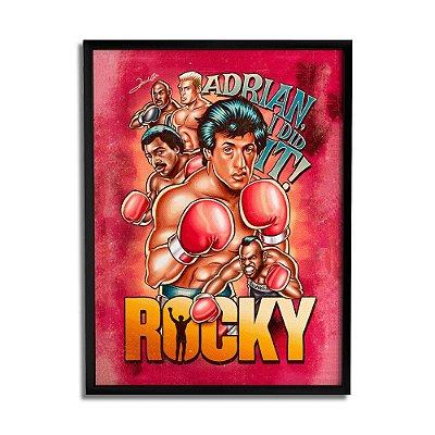 Quadro Decorativo Rocky By Renato Cunha - Beek