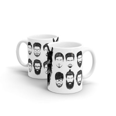 Caneca Personalizada Cerâmica DON'T SHAVE YOUR BEARD - Beek