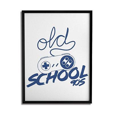 Quadro Decorativo Old School By Cleyton Braga - Beek