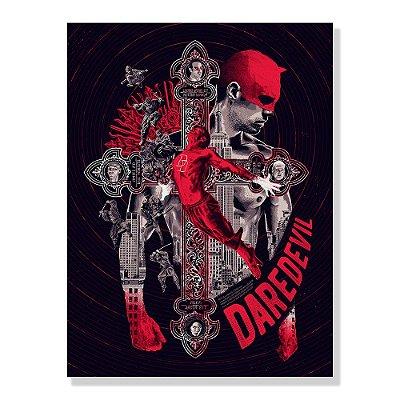 Quadro Decorativo Daredevil By Amaury Filho - Beek