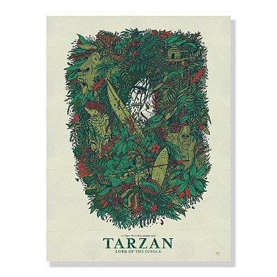 Quadro Decorativo Tarzan Lord By Amaury Filho - Beek