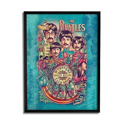 Quadro Decorativo The Beatles By Renato Cunha - Beek