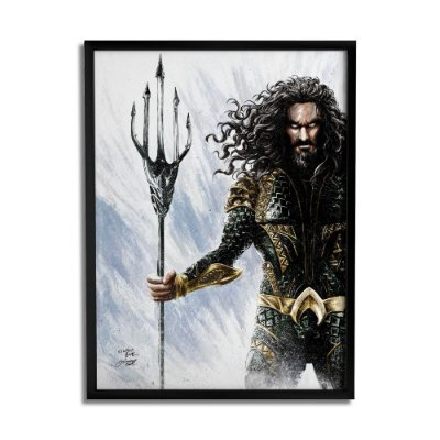 Quadro Decorativo Aquaman By Baal's - Beek