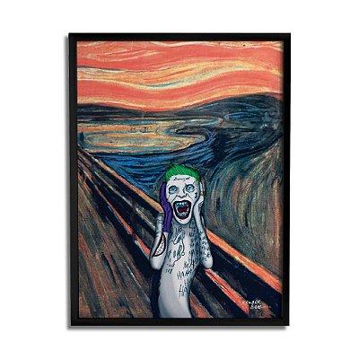 Quadro Decorativo Joker Scream By Baal's - Beek