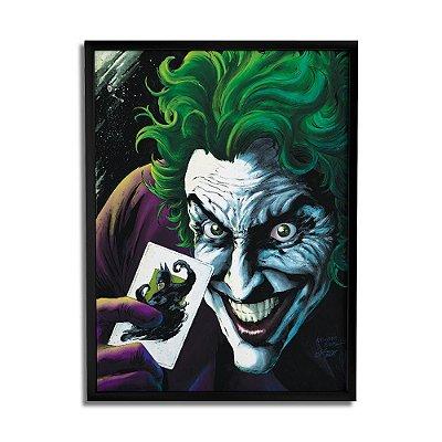 Quadro Decorativo Joker Card By Baal's - Beek