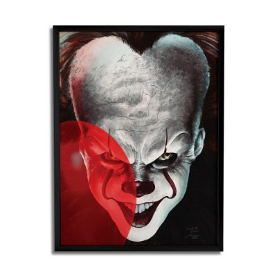 Quadro Decorativo Pennywise Balloon By Baal's - Beek