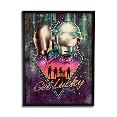 Quadro Decorativo Daft Punk By Renato Cunha - Beek