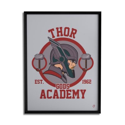 Quadro Decorativo Thor By Cleyton Braga - Beek
