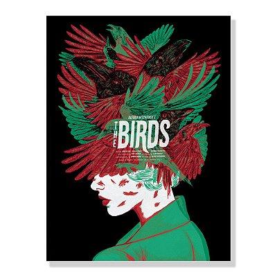 Quadro Tela 60x42cm Birds By Amaury Filho - Beek
