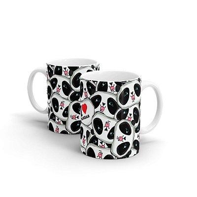 Caneca Personalizada Cerâmica I LOVE PANDA - Beek