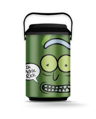 Cooler 10 Latas Pickle RICK AND MORTY Oficial - Beek