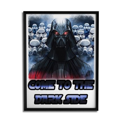 Quadro Decorativo Dark Side By Júlio Magah - Beek