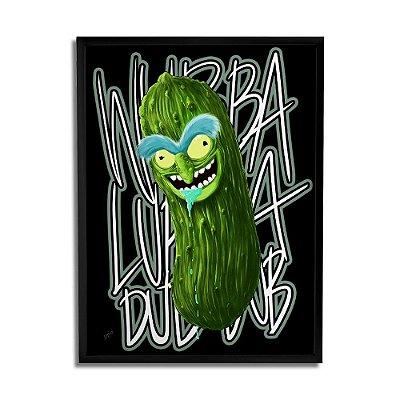 Quadro Decorativo Pickle Rick By Samuel Sajo - Beek